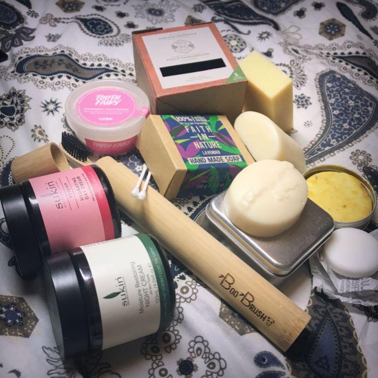 Pleastic free beauty items