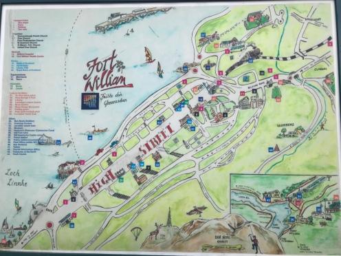 Fort William Map
