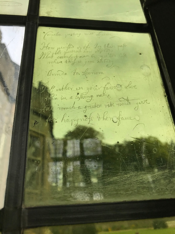 Scribbles written by staff and residents of the Hall