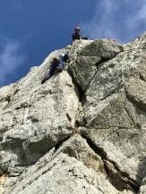 Trad Climbing at Holyhead Anglesey, Wales