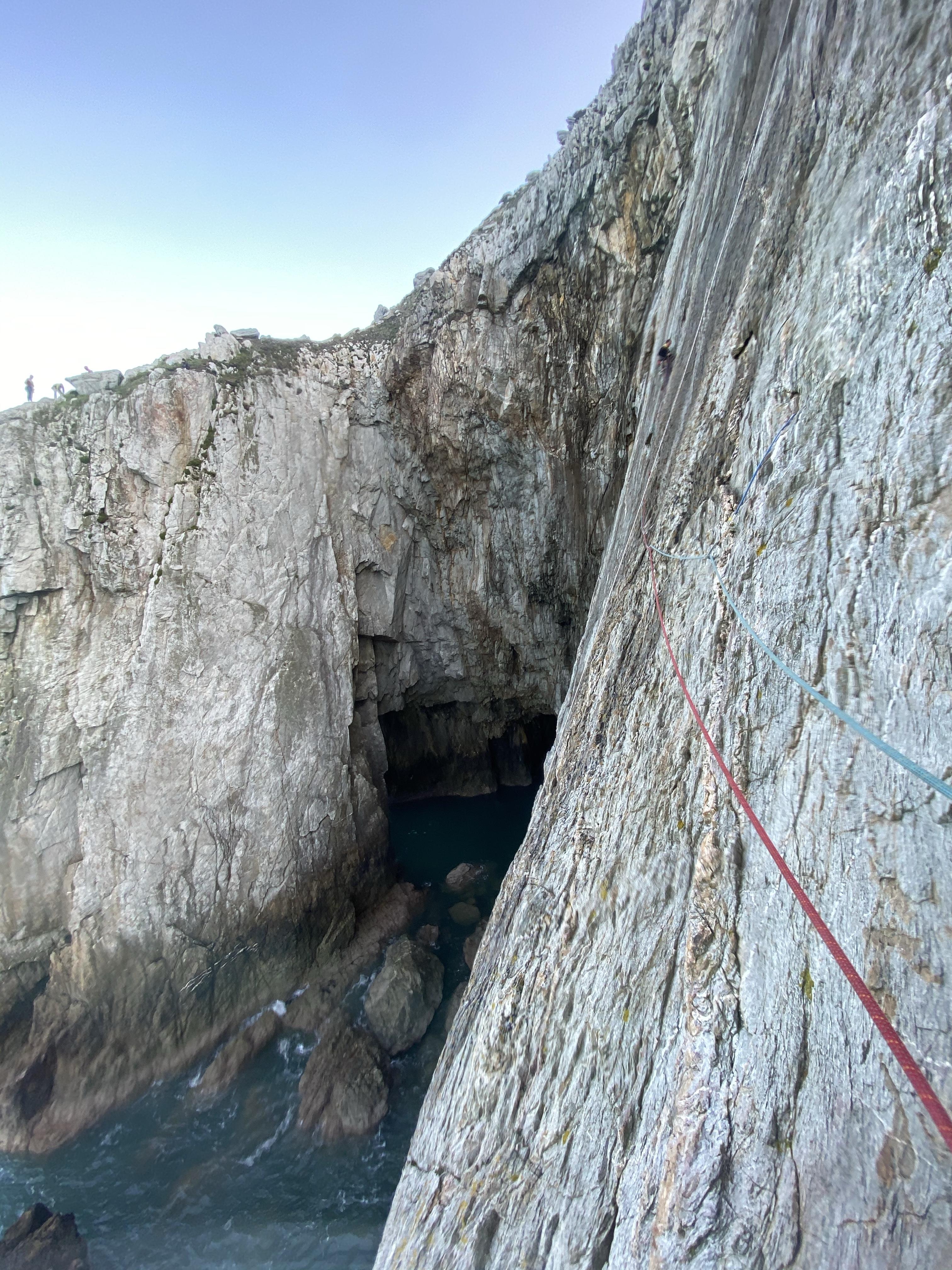 Holyhead climbing