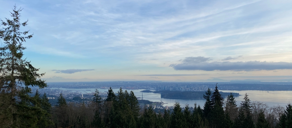 View of the city of Vancouver